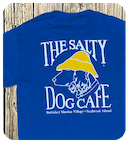 Blue salty dog t-shirt'.