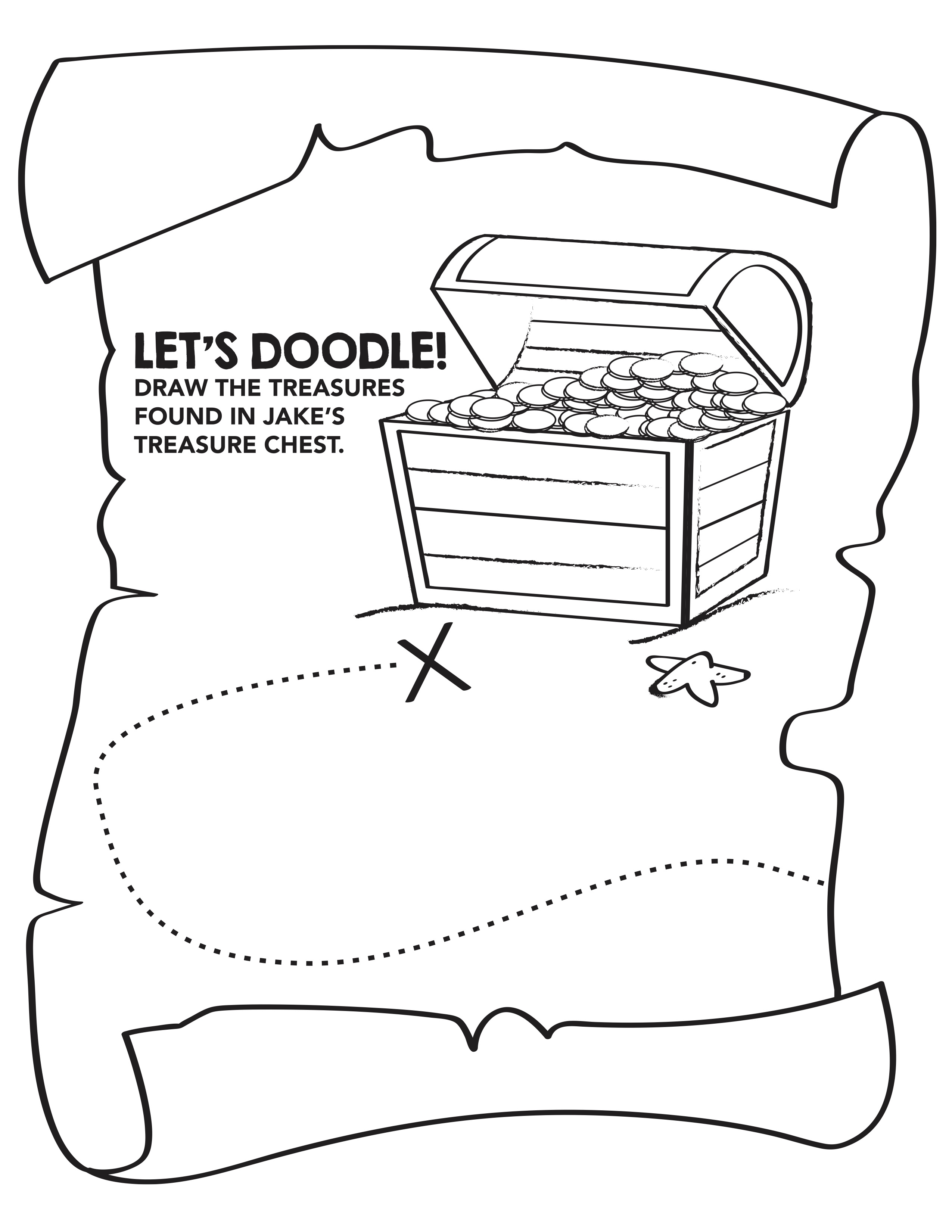 Kids' menu book page 8